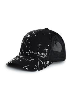 True Religion FOIL PRINT HAT