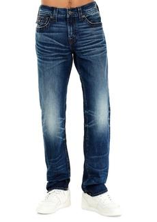 True Religion Geno Flap-Pocket Straight-Leg Jeans