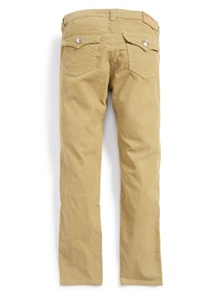 True Religion Geno Relaxed Slim Fit Corduroy Pants (Big Boys)