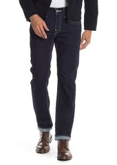 True Religion Geno Topstitched Slim Fit Jeans