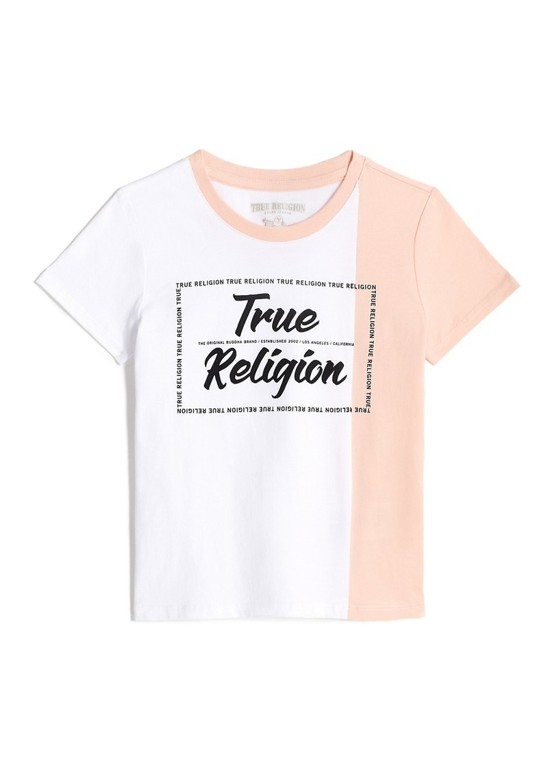 True Religion GIRLS LOGO TEE