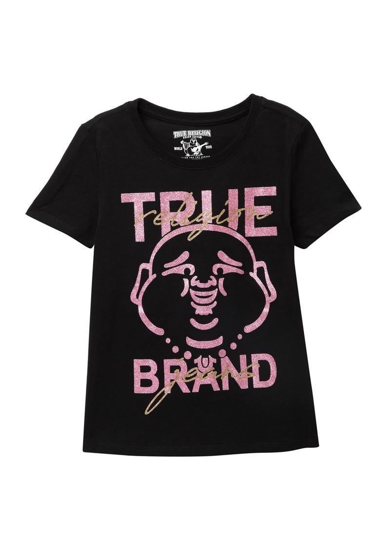 True Religion Glitter Buddha T-Shirt (Big Girls)