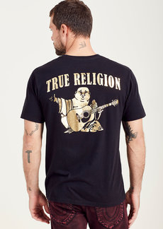 True Religion SOLID GOLD BUDDHA TEE