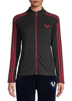 True Religion Graphic Zip-Front Jacket