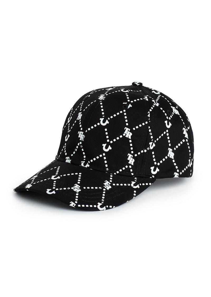 True Religion MONOGRAM PRINT HAT