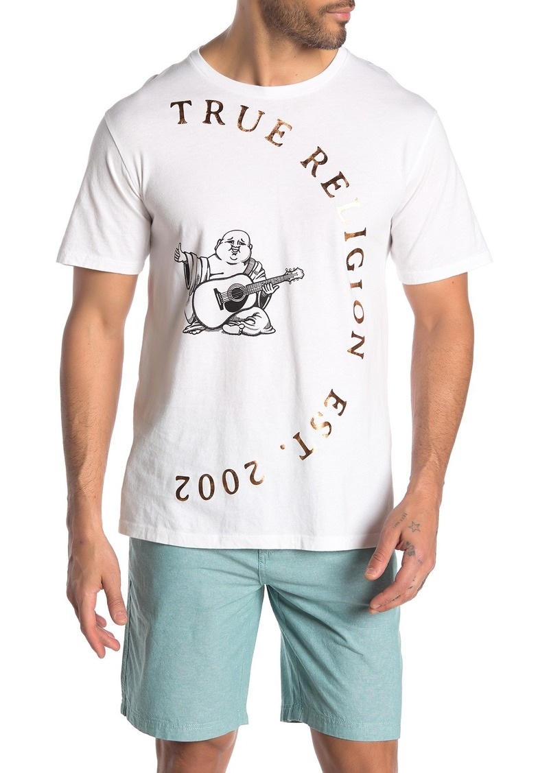 True Religion Half Circle Buddha Short Sleeve T-Shirt