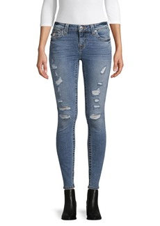 True Religion Halle Destroyed Skinny Jeans