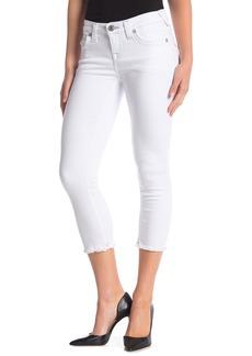 True Religion Halle Mid Rise Capri Jeans