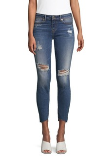 True Religion Halle Mid-Rise Super Skinny Jeans