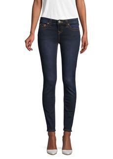 True Religion Halle Mid-Rise Super-Skinny Leg Jeans