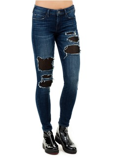 True Religion HALLE MID RISE SUPER SKINNY WOMENS