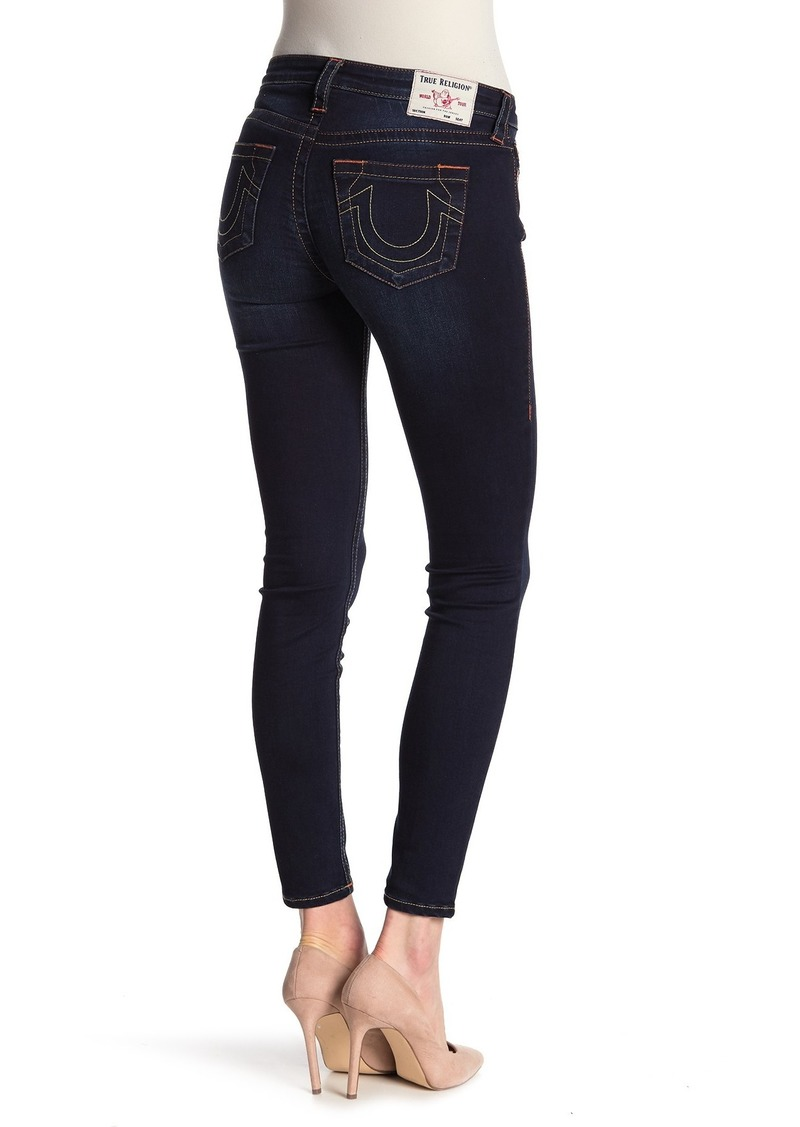 True Religion Halle Om Core Mid Rise Skinny Jeans