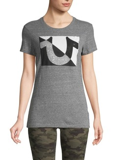 True Religion Heathered Graphic Tee
