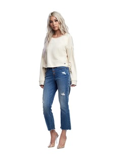 True Religion HIGH RISE CROP FLARE