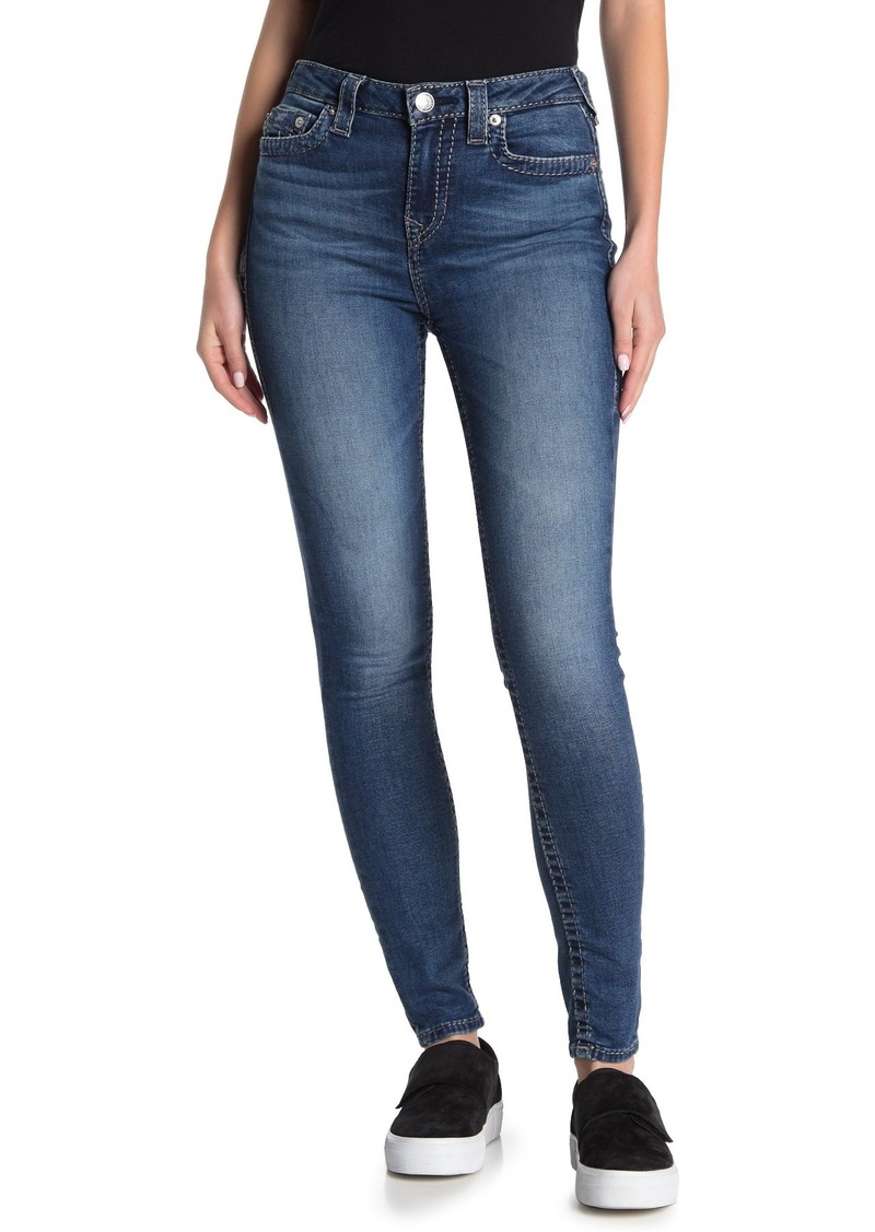 True Religion High Rise Halle Big T Skinny Jeans