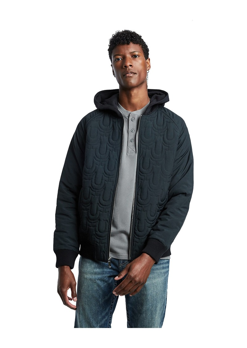 True Religion HOODED BOMBER JACKET