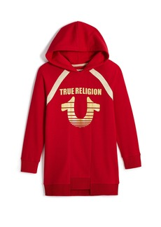 True Religion TR HORSESHOE HOODIE DRESS