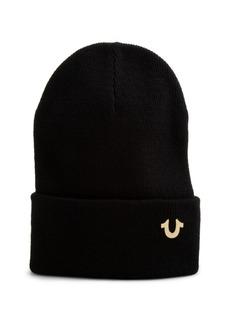 True Religion Horseshoe Badge Watchcap