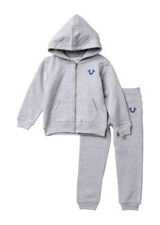 True Religion Horseshoe Hoodie & Sweatpants Set (Toddler Boys)