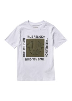 True Religion Horseshoe Square Tee (Big Boys)