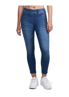 True Religion JEGGING RHINESTONES BLUE DENIM