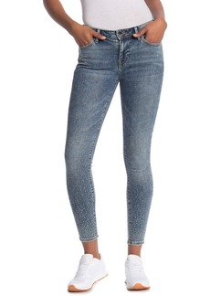 True Religion Jennie Crystal Ombre Ankle Skinny Jeans