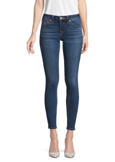 True Religion Jennie Curvy Mid-Rise Super-Skinny Leg Jeans