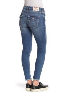 True Religion Jennie Curvy Skinny Fray Cuff Jeans