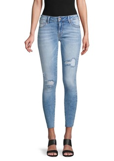 True Religion Jennie Destroyed Ankle Skinny Jeans