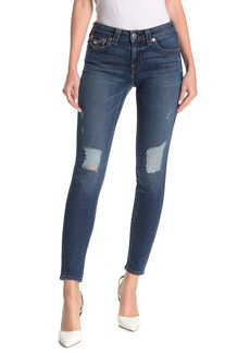 True Religion Jennie Destroyed Flap Pocket Skinny Jeans