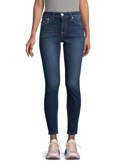 True Religion Jennie Flap-Pocket Skinny Jeans