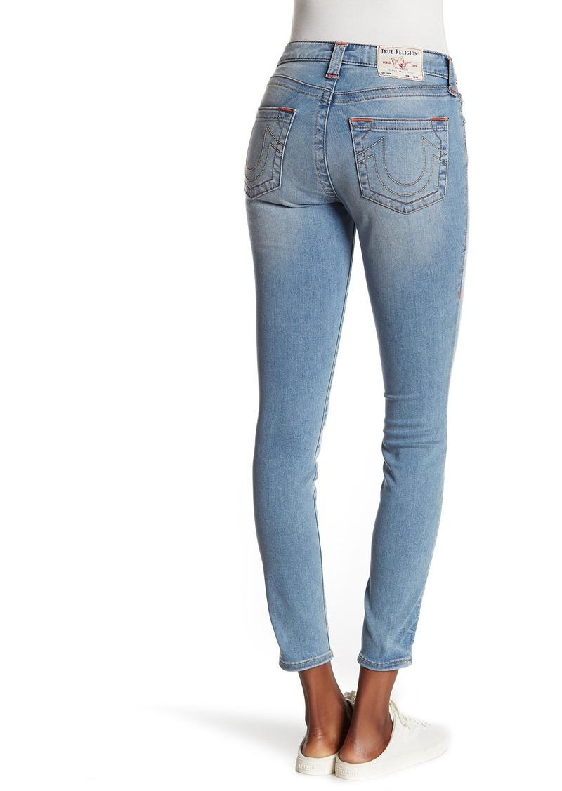 True Religion Jennie Mid Rise Curvy Skinny Jeans