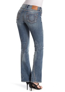 True Religion Joey Vintage Ripped Flare Jeans