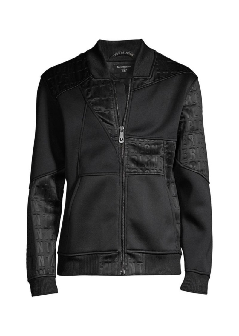 True Religion Kaleidoscope Paneled Bomber Jacket