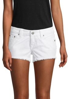 Keira Frayed Denim Shorts