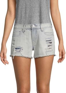 True Religion Kori Distressed Denim Shorts