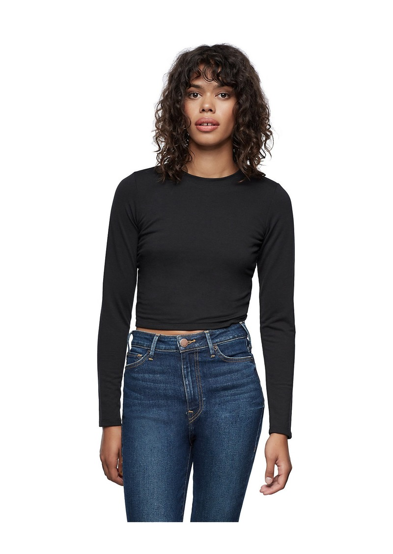 True Religion LACE BACK LONG SLEEVE TOP