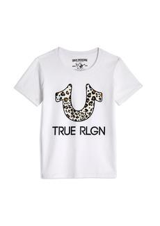 True Religion LEOPARD U TEE