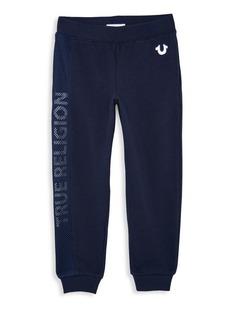 True Religion Little Boy's & Boy's Mesh Logo Sweatpants