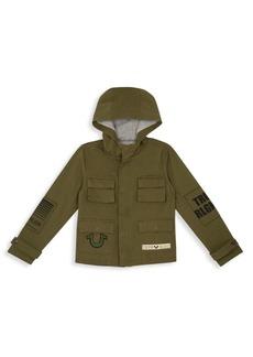 True Religion Little Boy's & Boy's Military Jacket