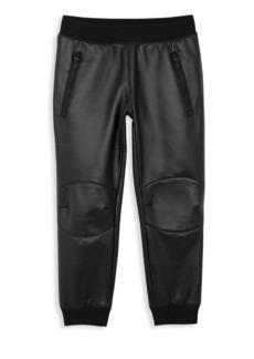 True Religion Little Boy's & Boy's Zippered Moto Pants
