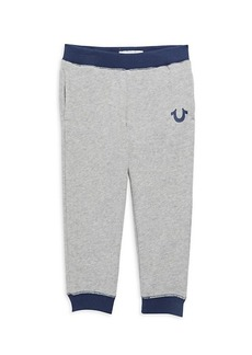 True Religion Little Boy's Textured Cotton Sweatpants