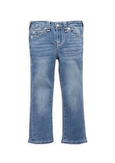 True Religion Little Girl's & Girl's Geno Relaxed Slim Jeans