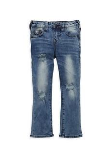 True Religion Little Girl's & Girl's Geno Slim-Fit Relaxed Jeans
