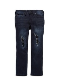 True Religion Little Girl's & Girl's Rocco Relaxed Skinny Jeans