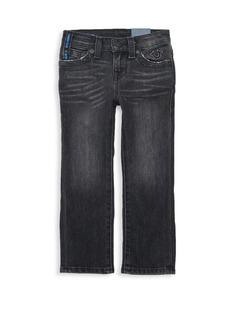 True Religion Little Kid's Stretch Cotton Jeans
