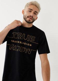 True Religion LOGO OUTLINE TEE