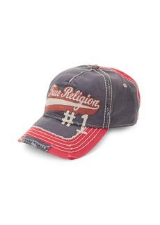 True Religion Logo Script Baseball Cap