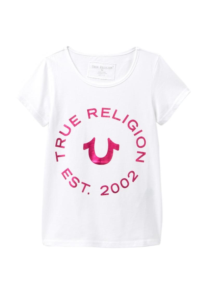 True Religion Logo T-Shirt (Big Girls)