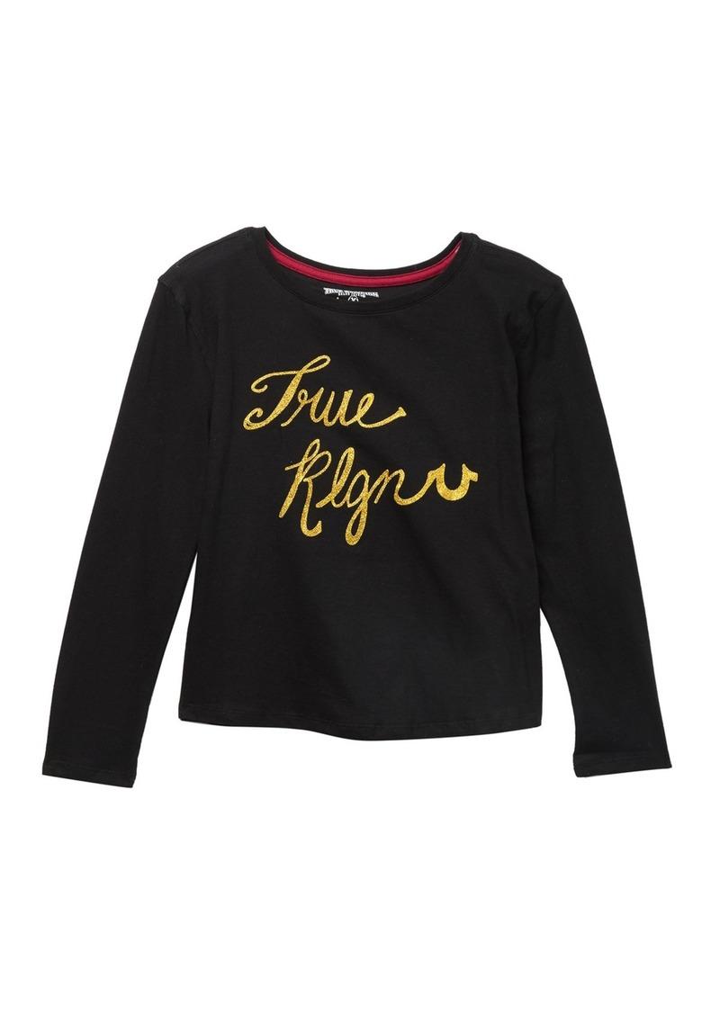 True Religion Long Sleeve T-Shirt (Big Girls)